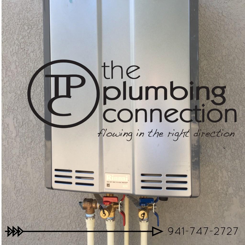 Rinnai Tankless Water Heater Bradenton Sarasota Plumber